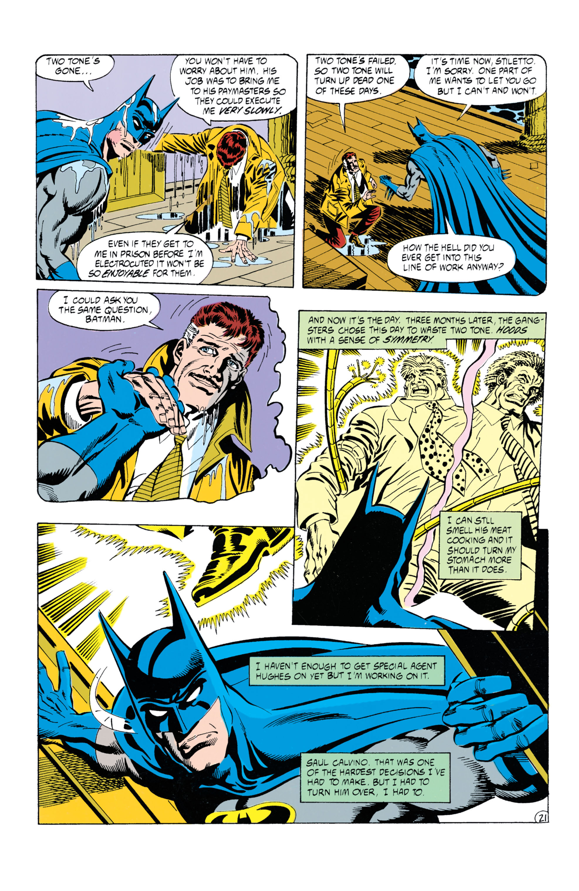 Detective Comics (1937) Issue #630 Page 22
