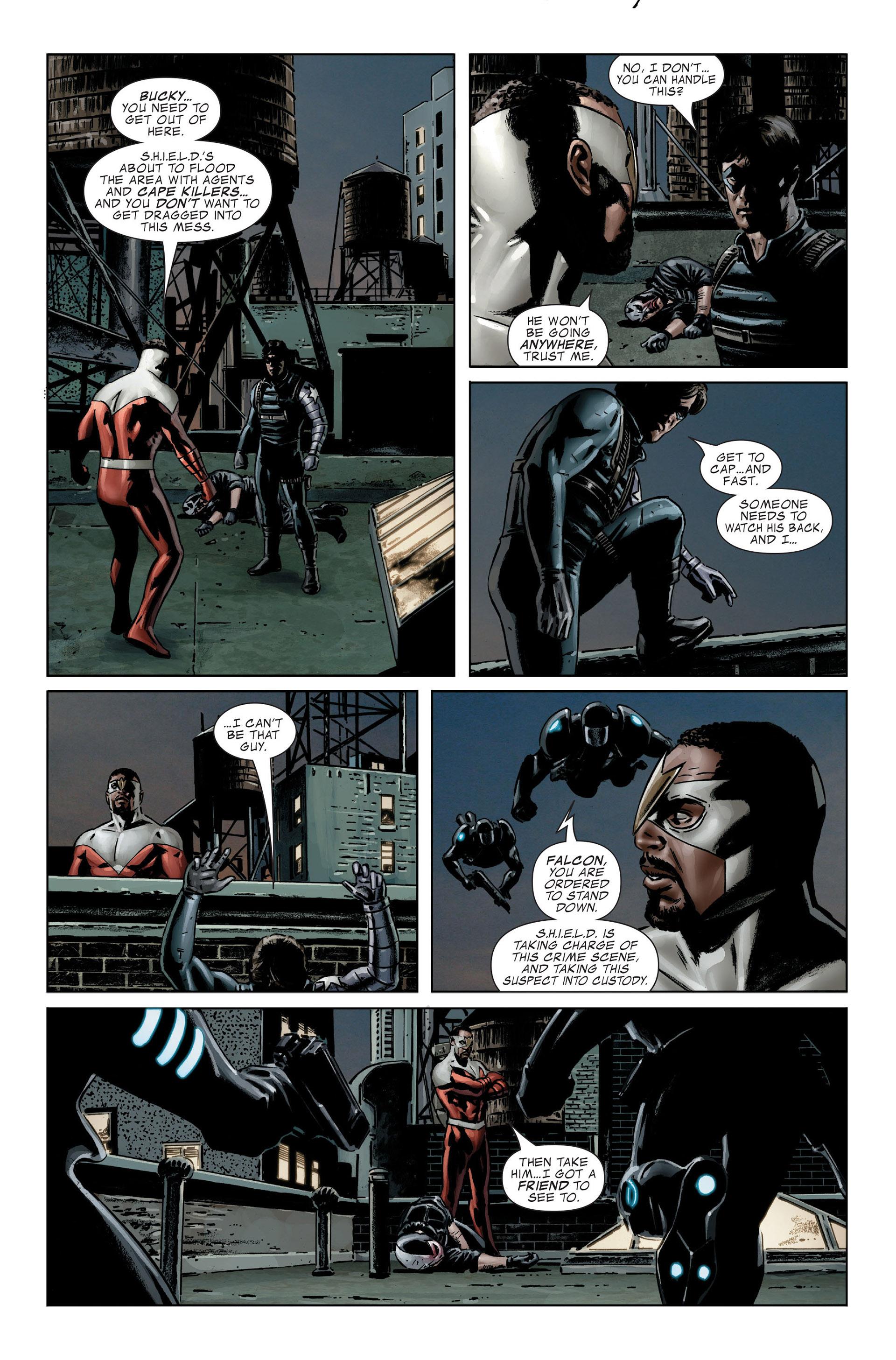Captain America (2005) Issue #25 #25 - English 28
