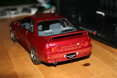 Kyosho Model Nissan Skyline GTR BNR32 rear bumper