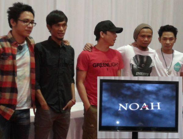"""Ariel dkk lounching nama band baru """"NOAH"""" sebagai pengganti Peterpan"""