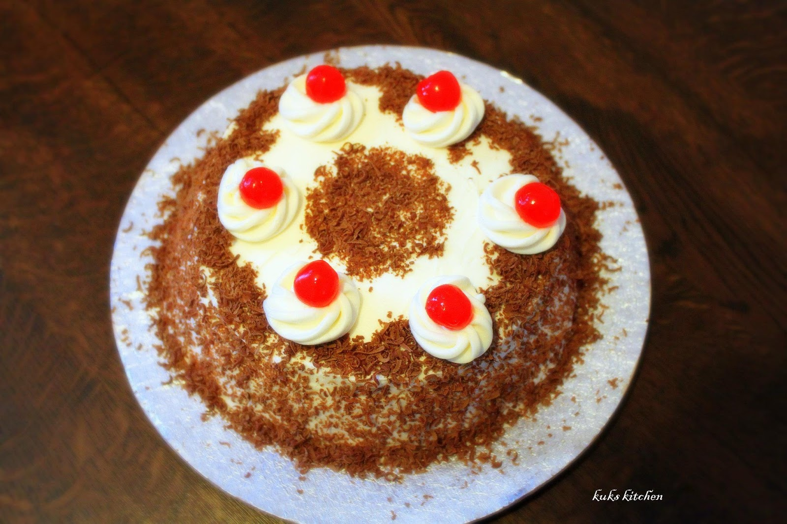 How To Make Black Forest Cake In Malayalam