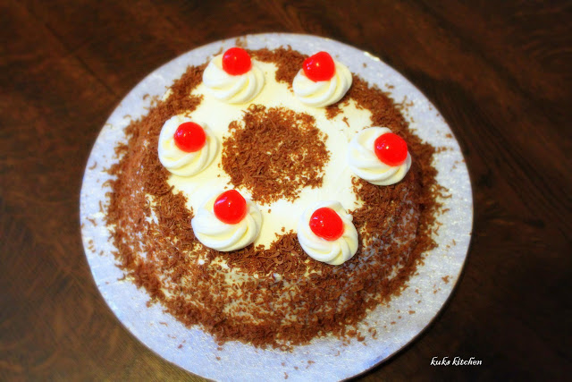 Black Forest Cake Ingredients In Malayalam