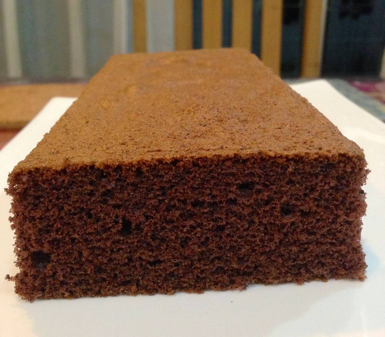 Baking Diary: Chocolate Sponge Cake