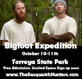 Sasquatch Hunters Free Expedition