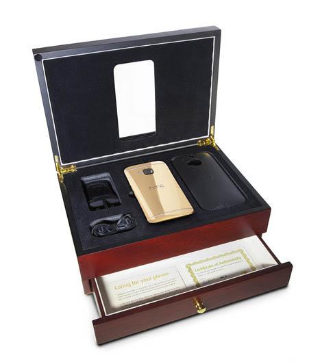 شركة HTC تقوم بطلاء هاتفها الجديد بالذهب عيار 24 قيراط و تعطيك ضمان لإعادة طلائه مدى الحياة مجانا