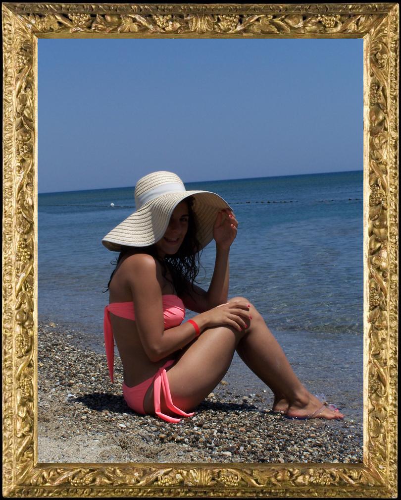 cappello H&M da spiaggia