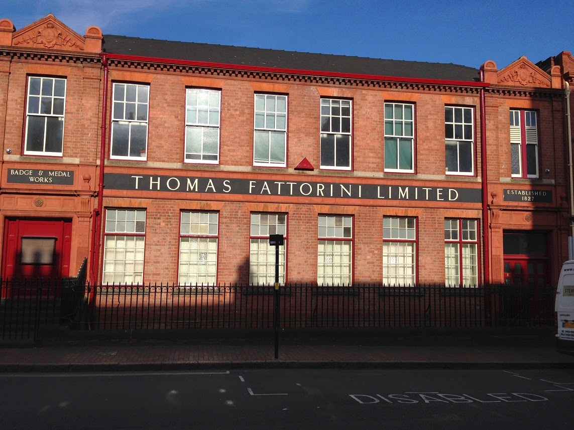Thomas Fattorini Limited buildings, Jewellery Quarter, Birmingham