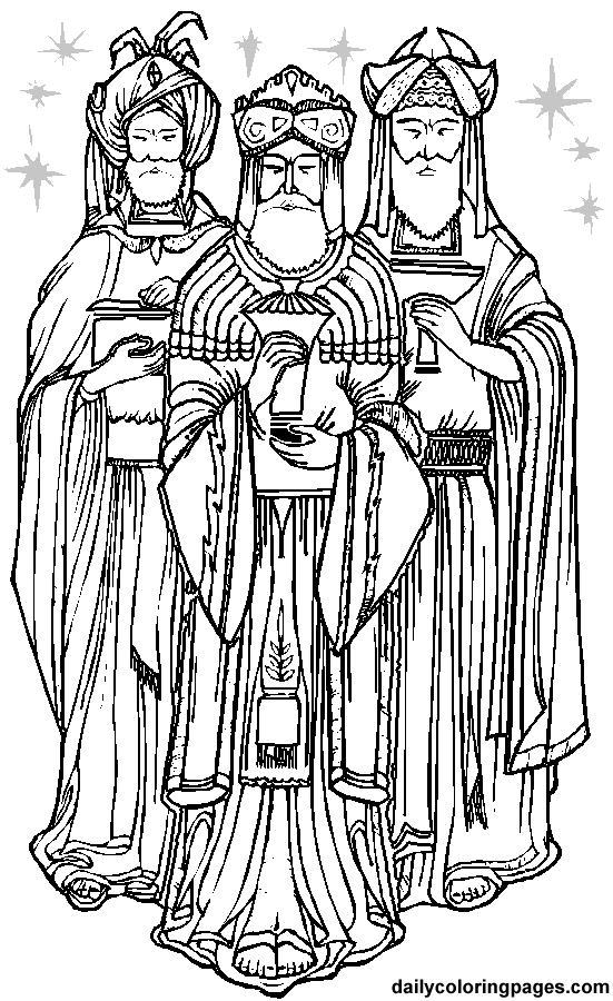 Catequese com carinho reis magos for Wise men coloring page