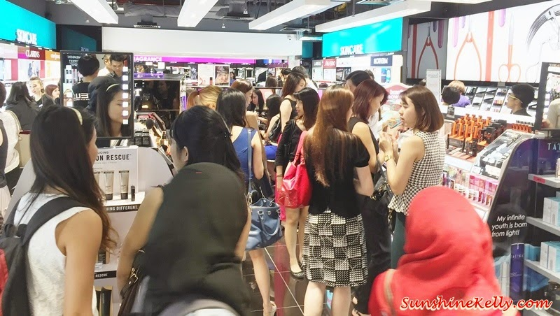 Sephora Mid Valley Megamall Opening Party, Sephora Malaysia, Sephora Mid Valley