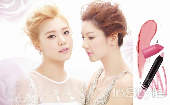Jungah, Jooyeon and Lizzy After School - InStyle Magazine February Issue 2014