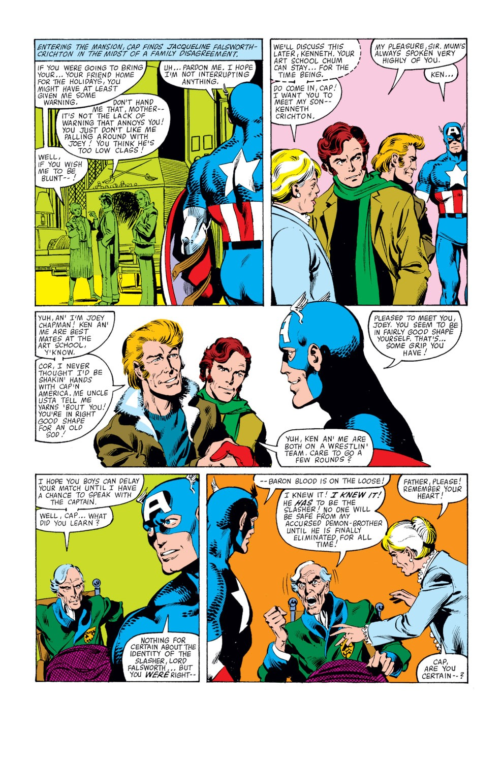 Captain America (1968) Issue #253 #168 - English 17