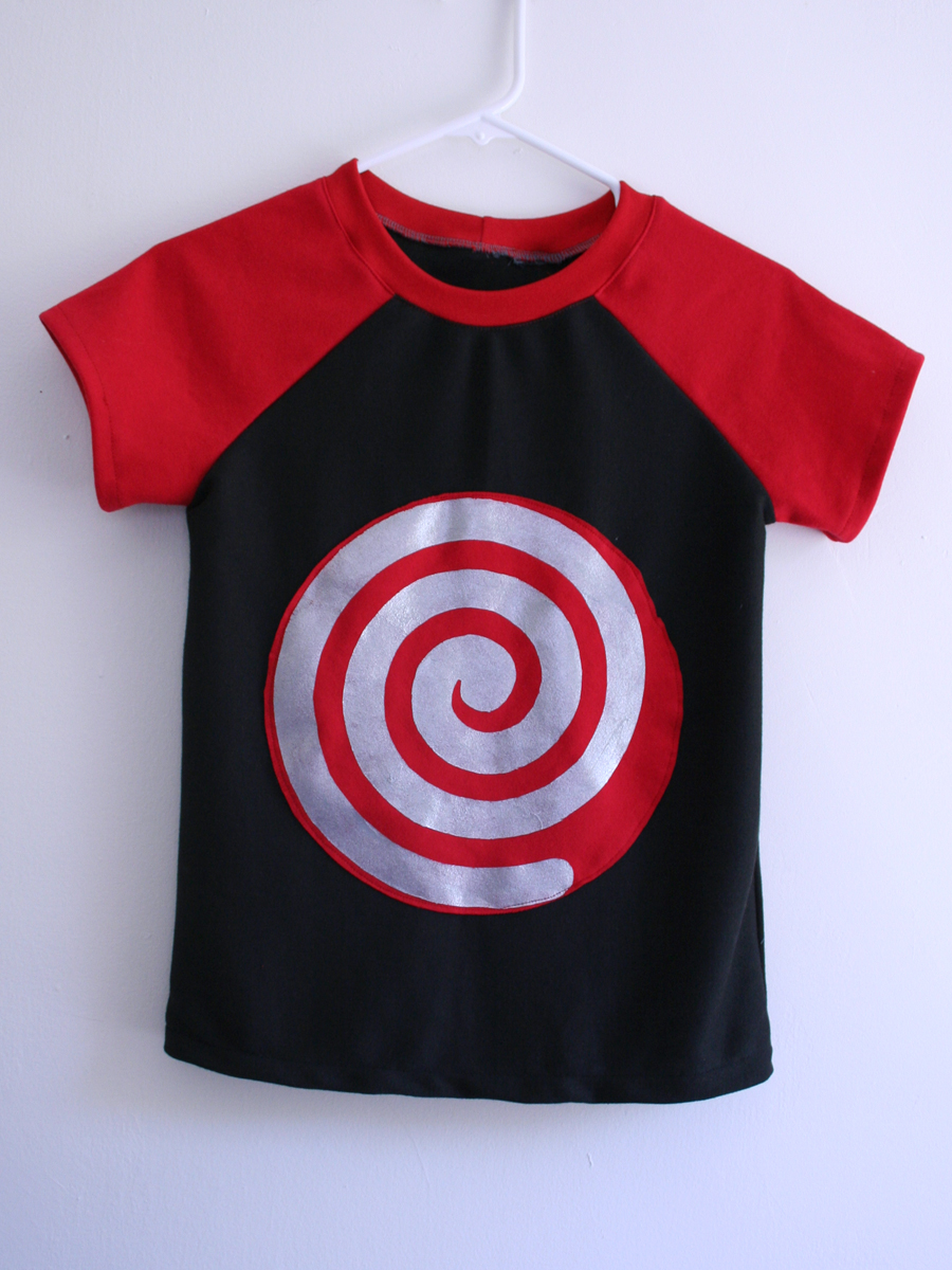 Hypno Spiral Tee by Tangible Pursuits for Embellish is for Boys