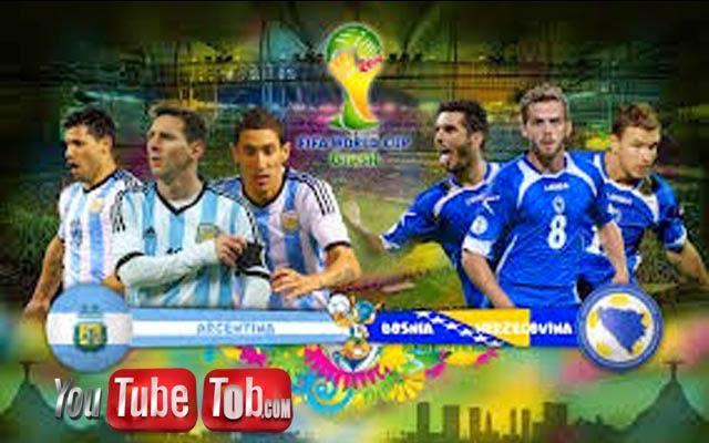 مشاهدة مباراة الارجنتين والبوسنة والهرسك بث مباشر اليوم 15-6-2014 كأس العالم Argentina vs Bosnia Herzegovina