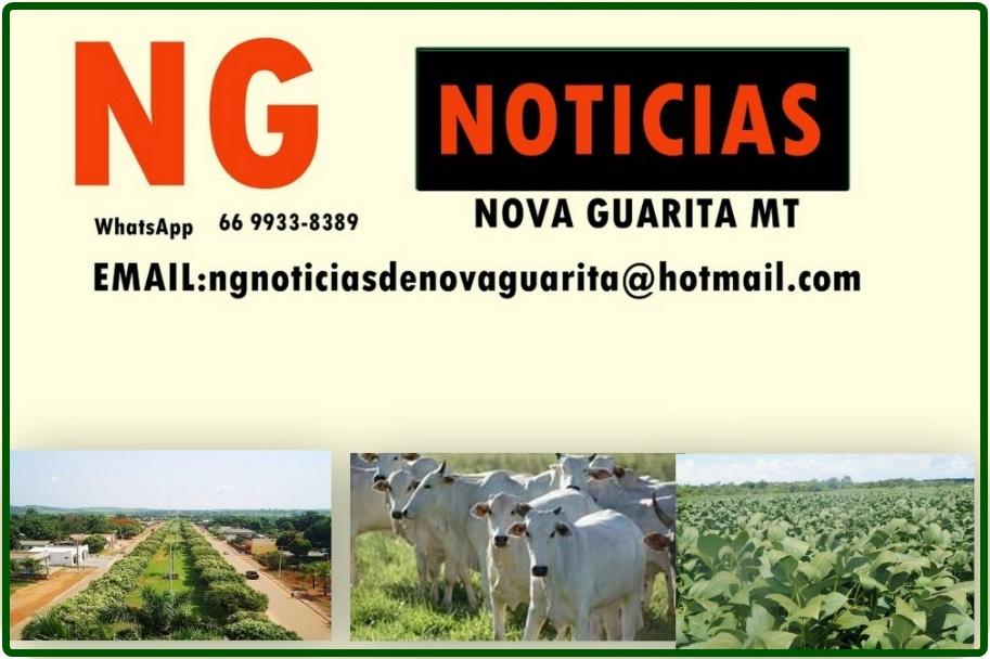 Primeiro e maior portal de notícias de Nova Guarita - MT