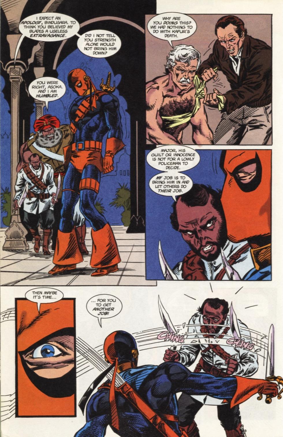 Deathstroke (1991) Issue #31 #36 - English 17