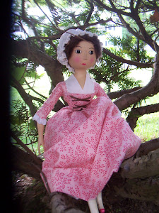 Charity, a Queen Anne Doll