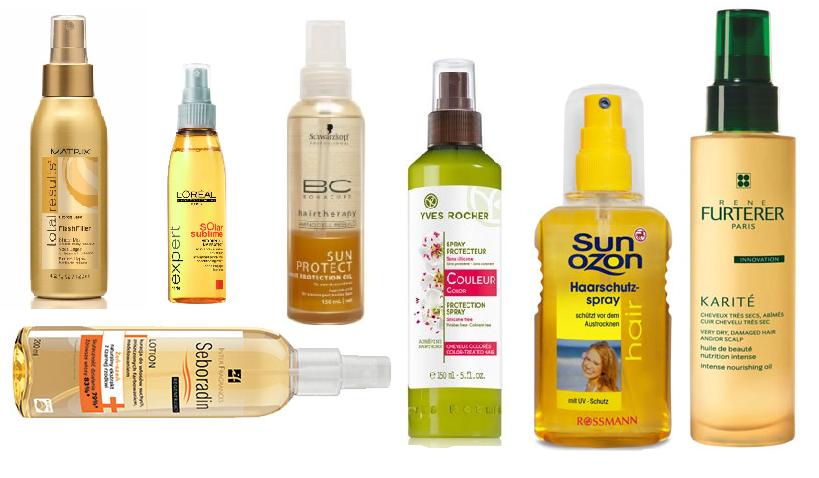 Chronimy włosy przed SŁOŃCEM - propozycja produktów