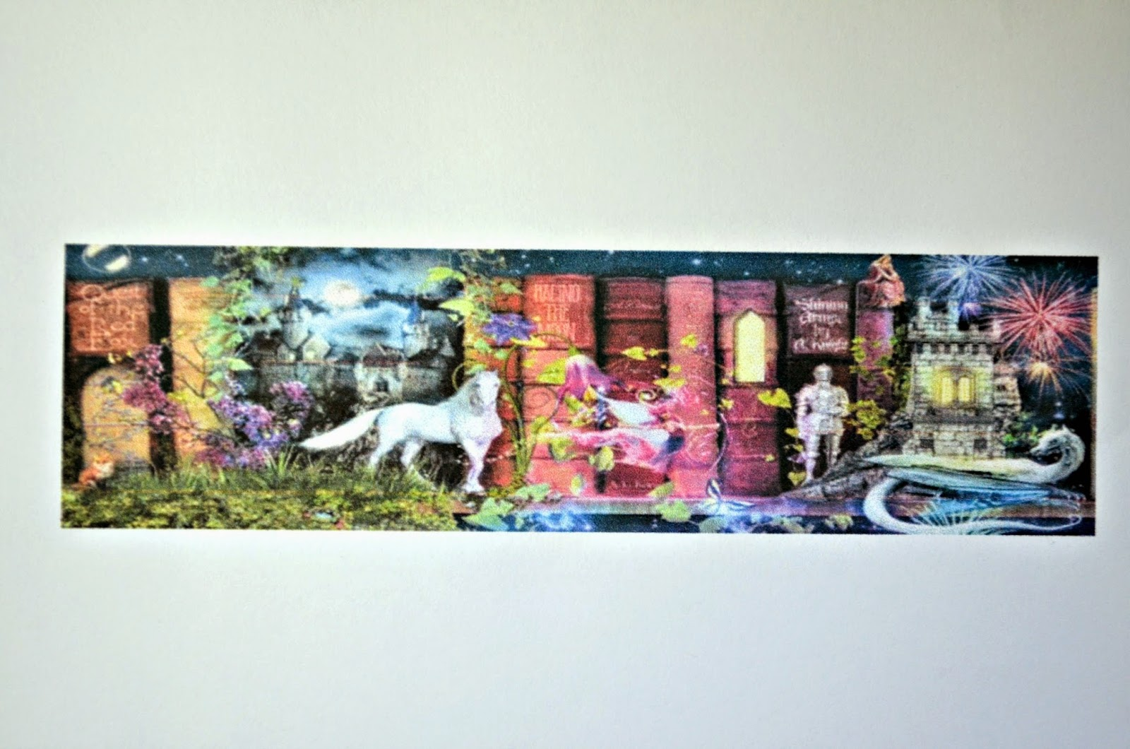 The Treasure Hunt Bookshelf Artwork By Artist Aimee Stewart Is One Vibrant Piece I Am Stitching A Portion Of Original