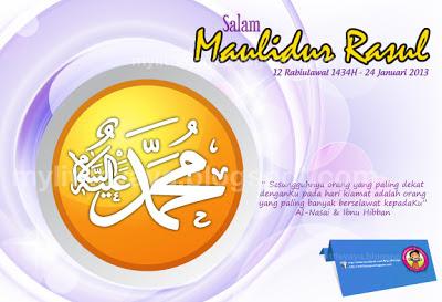 Salam Maulidur Rasul 2013