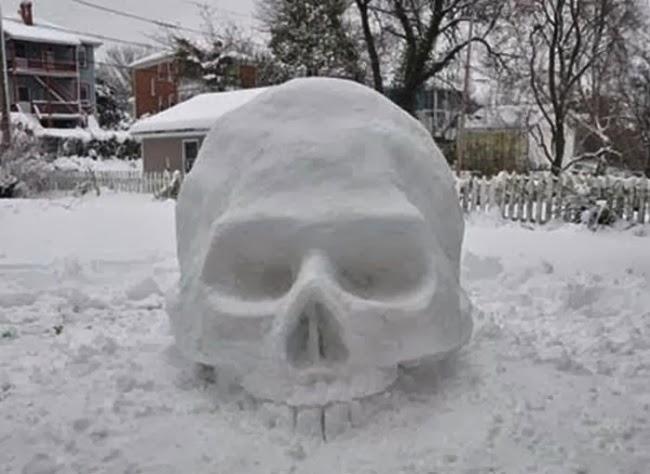 Снеговик с того света