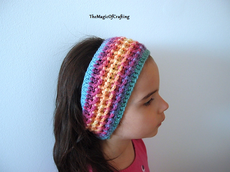 Free Crochet Patterns And Diy Crochet Charts Square Textured Headband