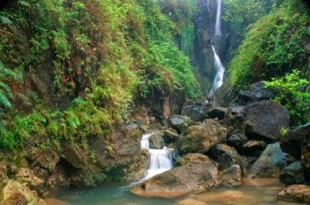Curug Silangit salah satu objek wisata alam di purworejo