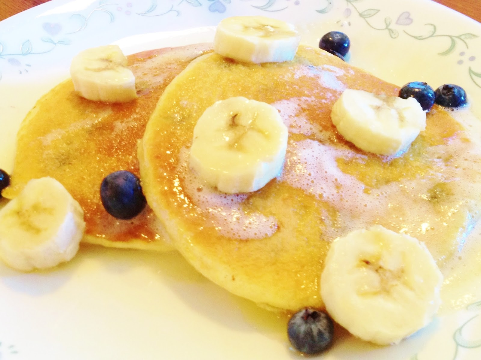 Sisters' Sweet Tooth: Lemon Blueberry Pancakes Dos