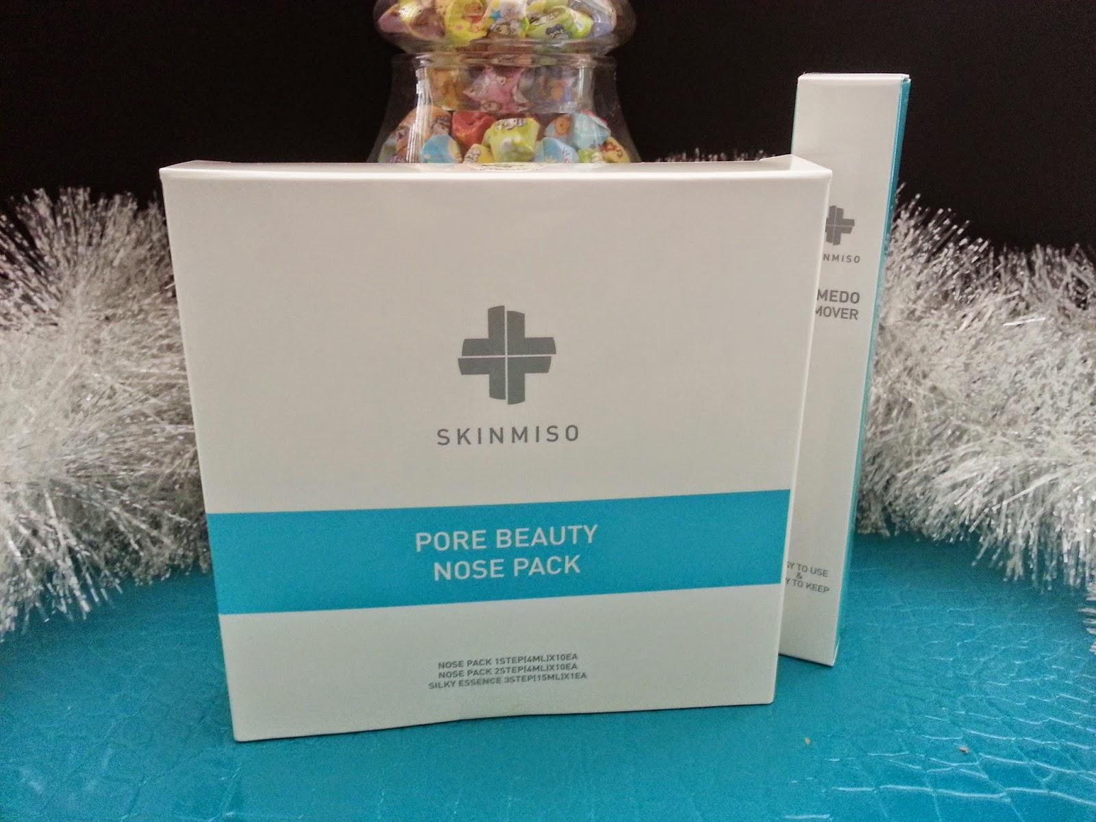 SkinMiso Pore Beauty Nose Pack + Comedo Remover