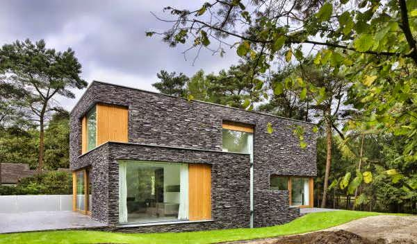 Netherlands Modern Forest House Design Blends Beautifully With Its Natural Surroundings Top 7