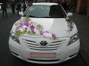 Hoa xe cưới MS016
