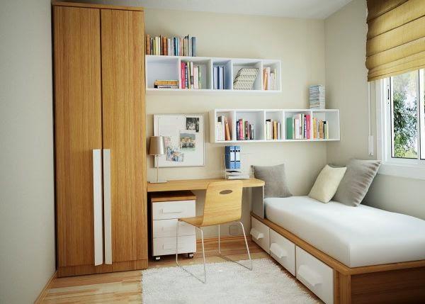 Twiis blog: bureau bibliothèque pour petits espaces