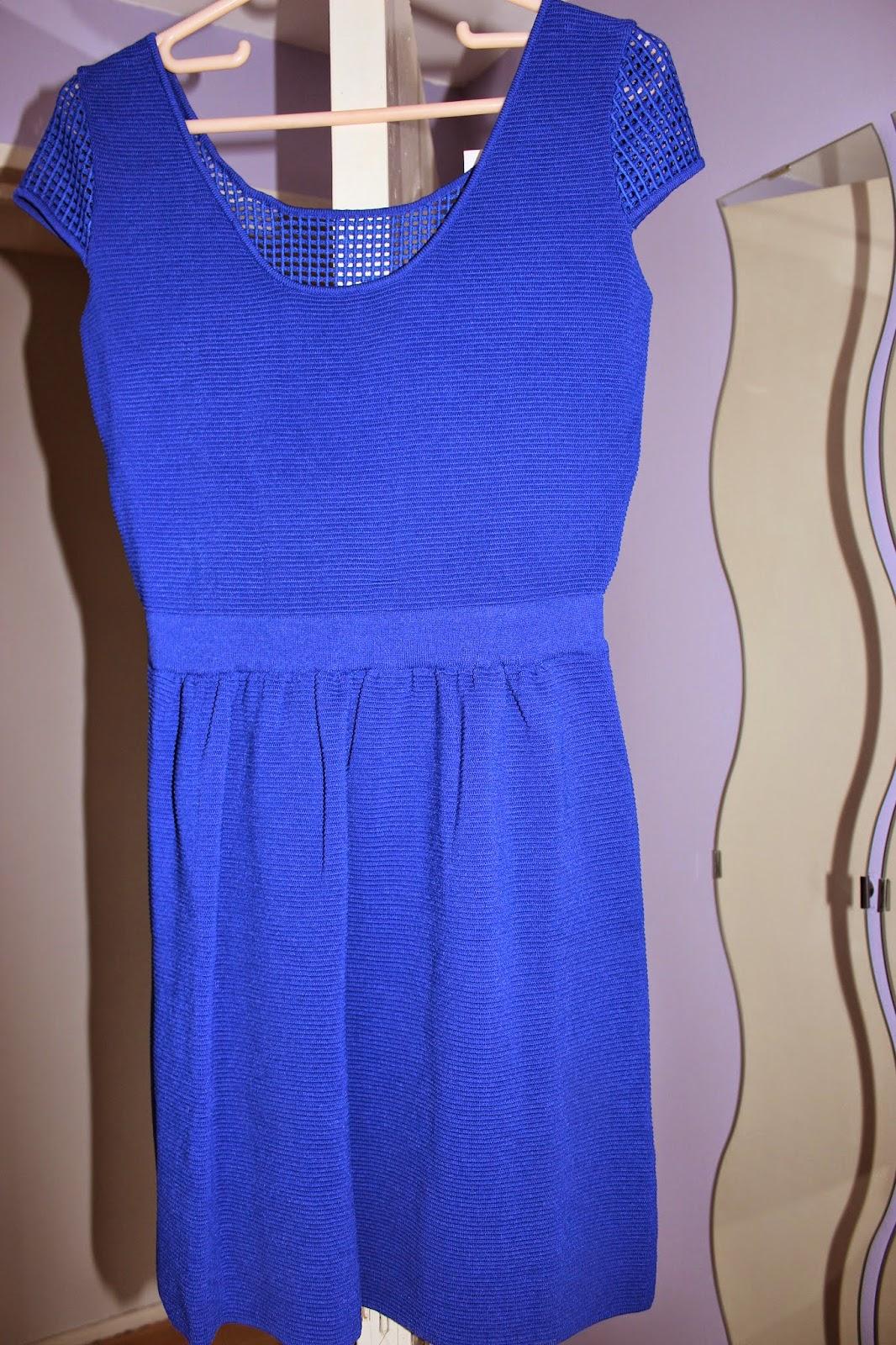 robe bleue naf naf
