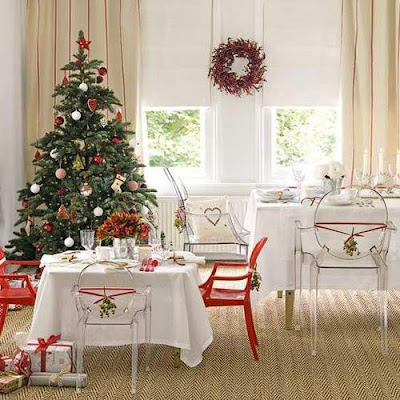 Country Christmas Tree Decorating Ideas for 2012