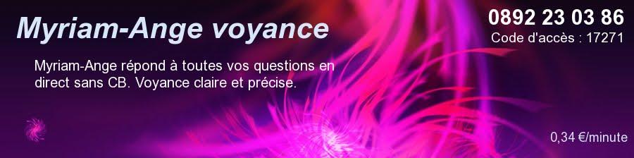 Myriam-Ange voyance