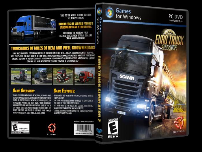 Euro Truck Simulator 2 +Parche 1Link DF