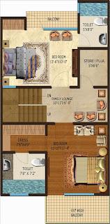 Amrapali Dream Valley :: Floor Plan