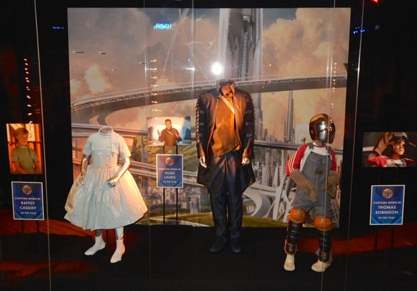 Tomorrowland movie costume exhibit