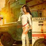 Mallika Sherawat's photoshoot for World's First 3D Magazine