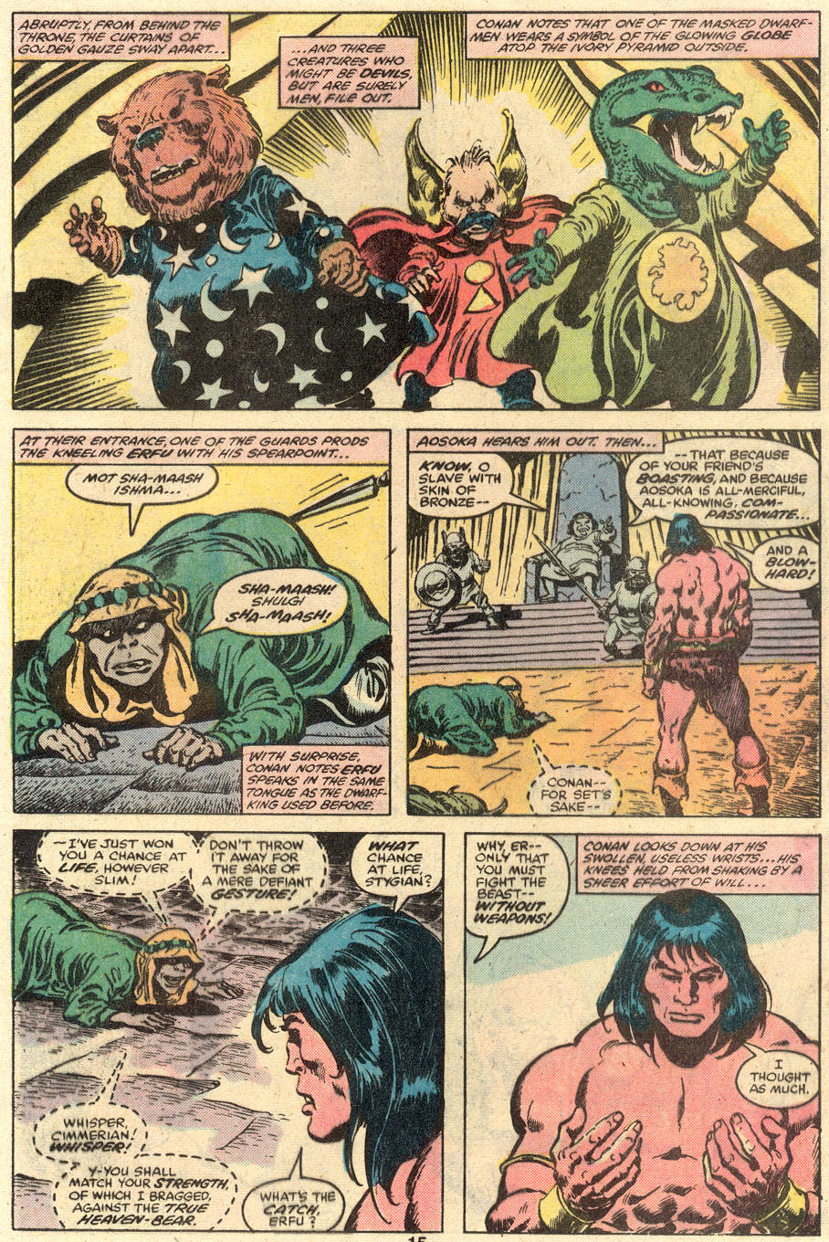 Conan the Barbarian (1970) Issue #110 #122 - English 10