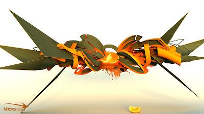3D Graffiti,3D Graffiti Sketch