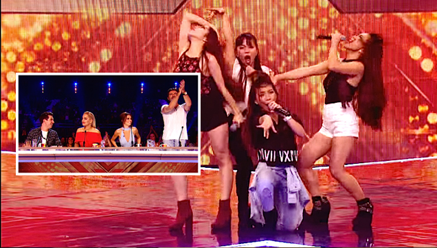 Philippine 4th Power 6 chair performance on X Factor UK 2015