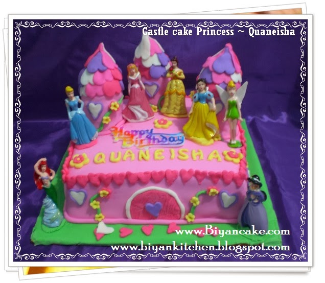 castle cake princess