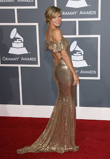 Heidi Klum at the Grammys