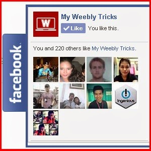Sticky Facebook Like Box for Weebly