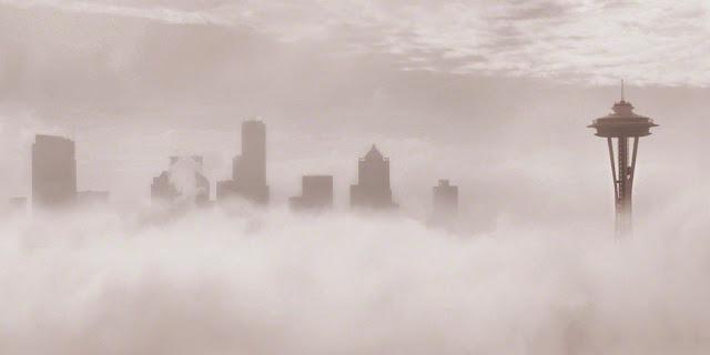 Seattle fog