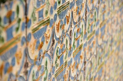 Séville - azulejos de l'Alcazar