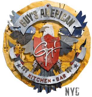 Guy Fieri, American Kitchen & Bar logo