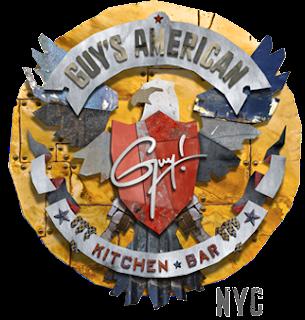 Guy Fieri, American Kitchen & Bar logo