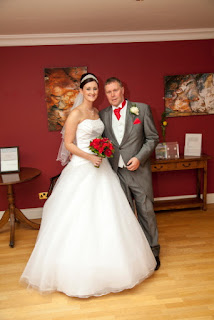 Father and Bride at Gisborough Hall