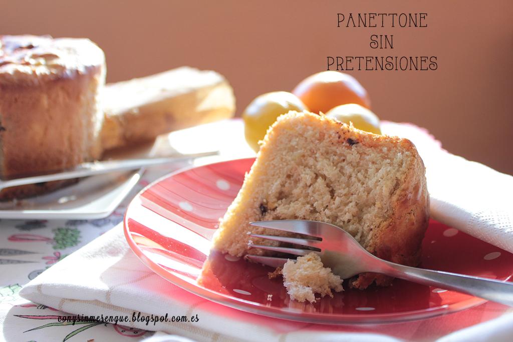 Panettone con naranja, limón y chocolate CyS